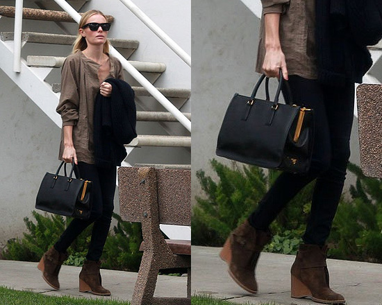b61e058c64d19e Kate Bosworth's Prada Saffiano Lux Top-Handle Open Tote ...