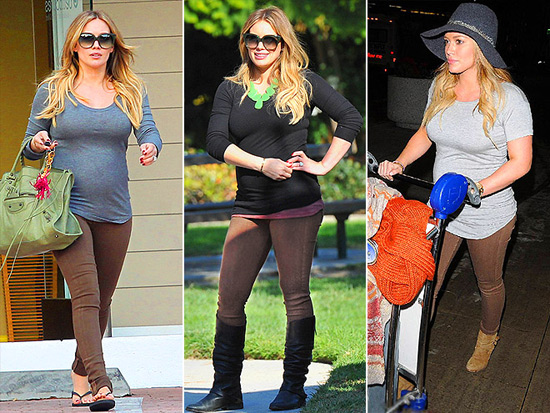 7839395eb2c3f Hilary Duff loves: Citizens of Humanity Maternity Pants ...