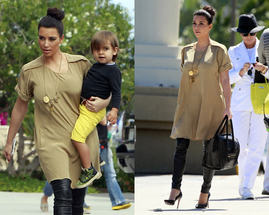 Kim Kardashian At San Diego Zoo Wearing 3 1 Phillip Lim T Shirt