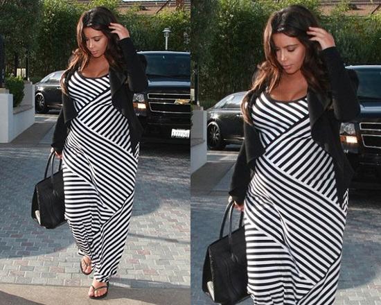 Kim Kardashian Maxi Dress