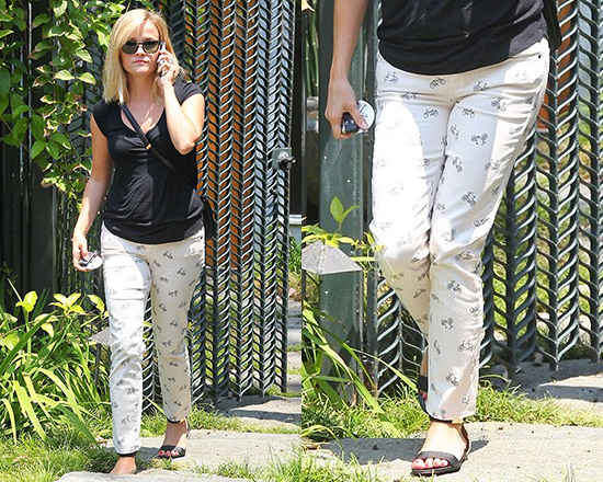 c7fdd0ddc6981 50% OFF Paige denim Kylie Cropped Retro Cruiser Skinny Jeans as seen on  Reese Witherspoon