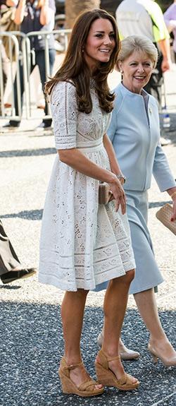 f9ae697d677a Kate Middleton Stuart Weitzman Minx Wedge Sandals ...