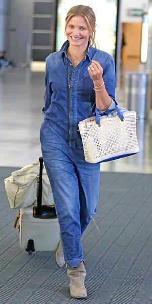 94e305f7dd4f Stella McCartney Kieran Zip-Front Denim Jumpsuit – CelebrityFashionista.com