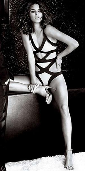 8a0b5f7221 Agent Provocateur Pink Mazzy Swimsuit – CelebrityFashionista.com