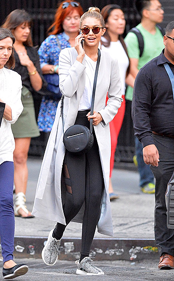 0c574d09951 Gigi Hadid wearing Krewe du Optic St. Louis Bengal Mirrored sunglasses