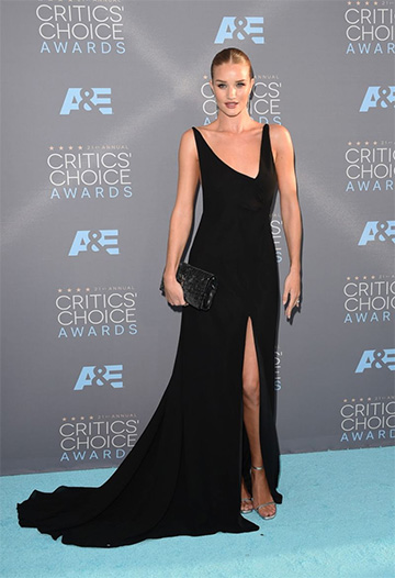 df337ec84d37 Saint Laurent Backless Viscose Crepe Maxi Dress as seen on Rosie  Huntington-Whiteley