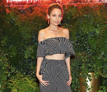 Nicole Richie wears House Of Harlow 1960 X Revolve Bree Crop Top and matching Mona Pants to REVOLVE event on June 2, 2016