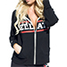Bellator Lightweight Unisex Zip-Up Hoodie