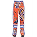 Emilio Pucci Floral Silk Twill Pants
