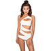 House of CB Hamptons Cut-out One Piece Swimsuit