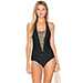 Nookie Sunset Strap Cutout One Piece Swimsuit