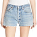 Re/Done The Short Reconstructed Denim Shorts