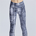 Varley Pacific Silver Croc Tight