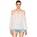 Zimmermann Eden Laced Top in White