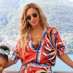 Beyonce Tumblr Fashion - Emilio Pucci Floral Silk Twill Shirt + Pants