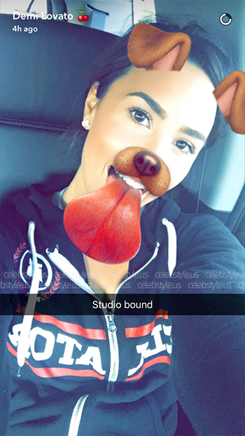 Bellator Lightweight Unisex Zip-Up Hoodie as seen on Demi Lovato Snapchat, August 10 2016.