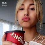 Seen on Hailey Baldwin Snapchat: Zimmermann Eden Laced Top in White