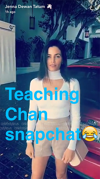 Seen on Jenna Dewan-Tatum Snapchat: Cushnie et Ochs High Neck Cut-Out Bodysuit
