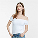 Express One Eleven Off the Shoulder Tee