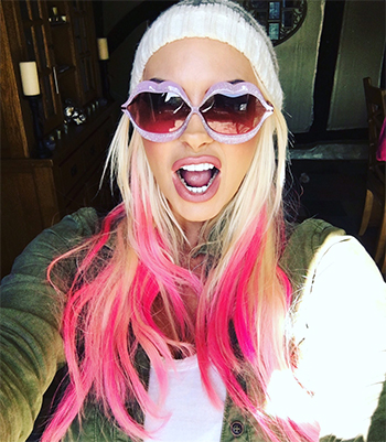 Jodie Marsh Twitter: Wildfox Lip Service Sunglasses