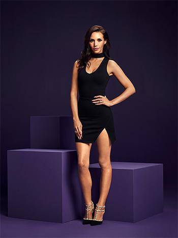 Scheana Shay Vanderpump Rules Season 5 Promo: Lulus Powerhouse Black Bodysuit