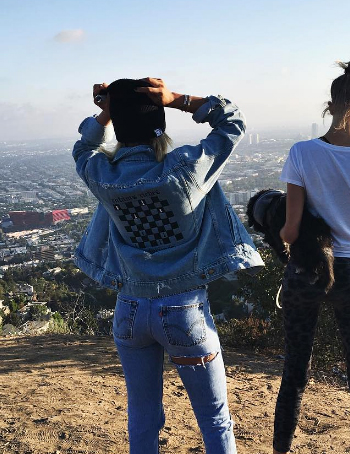 Sofia Richie Instagram: Enfants Riches Déprimés Denim Jacket