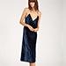 AOTC Velvet Midi Slip Dress