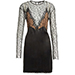 Alexander Wang Long Sleeve Illusion Lace Dress