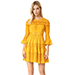 Cinq-A-Sept Golden Rod Octavia Dress