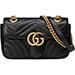 Gucci GG Marmont Matelassé Mini Bag Leather