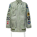 Off-White Patch Sleeve Military Jacket