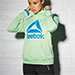 Reebok Green Speedwick Cowl Neck Sweatshirt