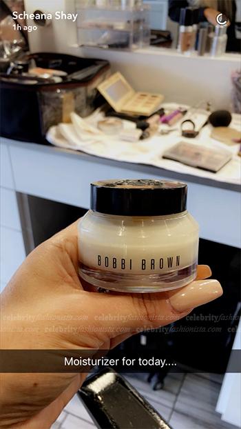 Scheana Shay Snapchat: Bobbi Brown Bobbi To Go Hydrating Face Cream (October 10, 2016)