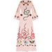 Gucci Embroidered Silk Organdy Gown