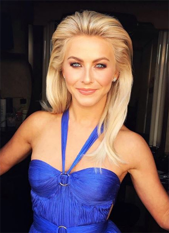 Julianne Hough: Suzanne Kalan Starburst Diamond Stud Earrings (Dancing with the Stars)