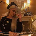 Kylie Jenner Snapchat — Wildfox Couture Starlet Sommers Sweater