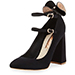 Sophia Webster Lilia Bow Suede Pumps
