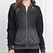 Tyler Jacobs Miri Black Burnout Sweatshirt