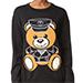 Moschino Bear Sweater, Black