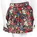Alice + Olivia Pleated Floral Print Skirt