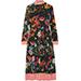 Gucci Floral Snake Dress