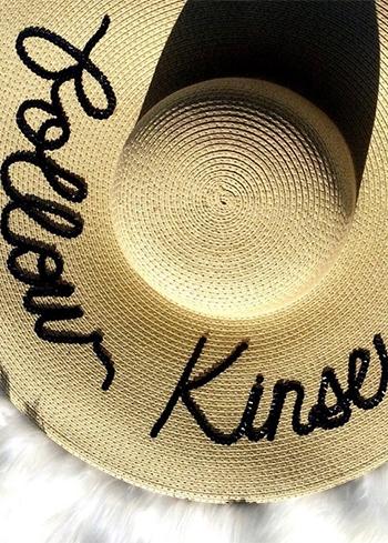 Kinsey Schofield, Eugenia Kim Emmanuelle Darling Rhinestone Embellished Hat (Instagram September 2, 2016)