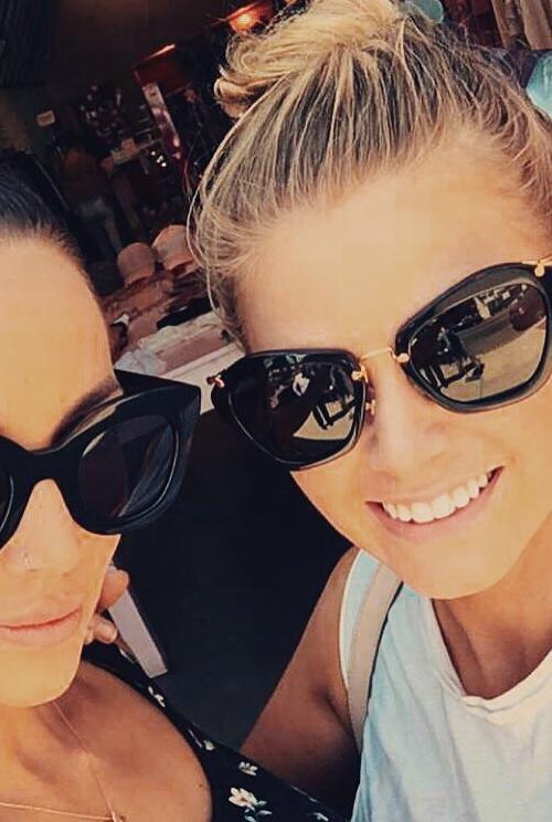 a63355521d4d Ariana Madix, Miu Miu Modified Cat's-Eye Sunglasses (Instagram September 7,  2016