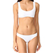 Solid & Striped Elle Bikini in White