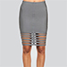 WOW Couture Caged Hem Bandage Skirt