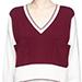 Chloé Colourblock Pocket Cashmere Sweater