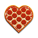 Kimoji pizza sticker
