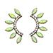 Lionette NY Byron Bay earrings in Yellow