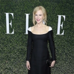 Nicole Kidman in Rupert Sanderson New Annis Suede Pumps at ELLE Annual Women In Television Celebration 2017 (Jan 14, 2017)