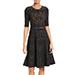 A.L.C. Grayson Knit Fit & Flare Dress